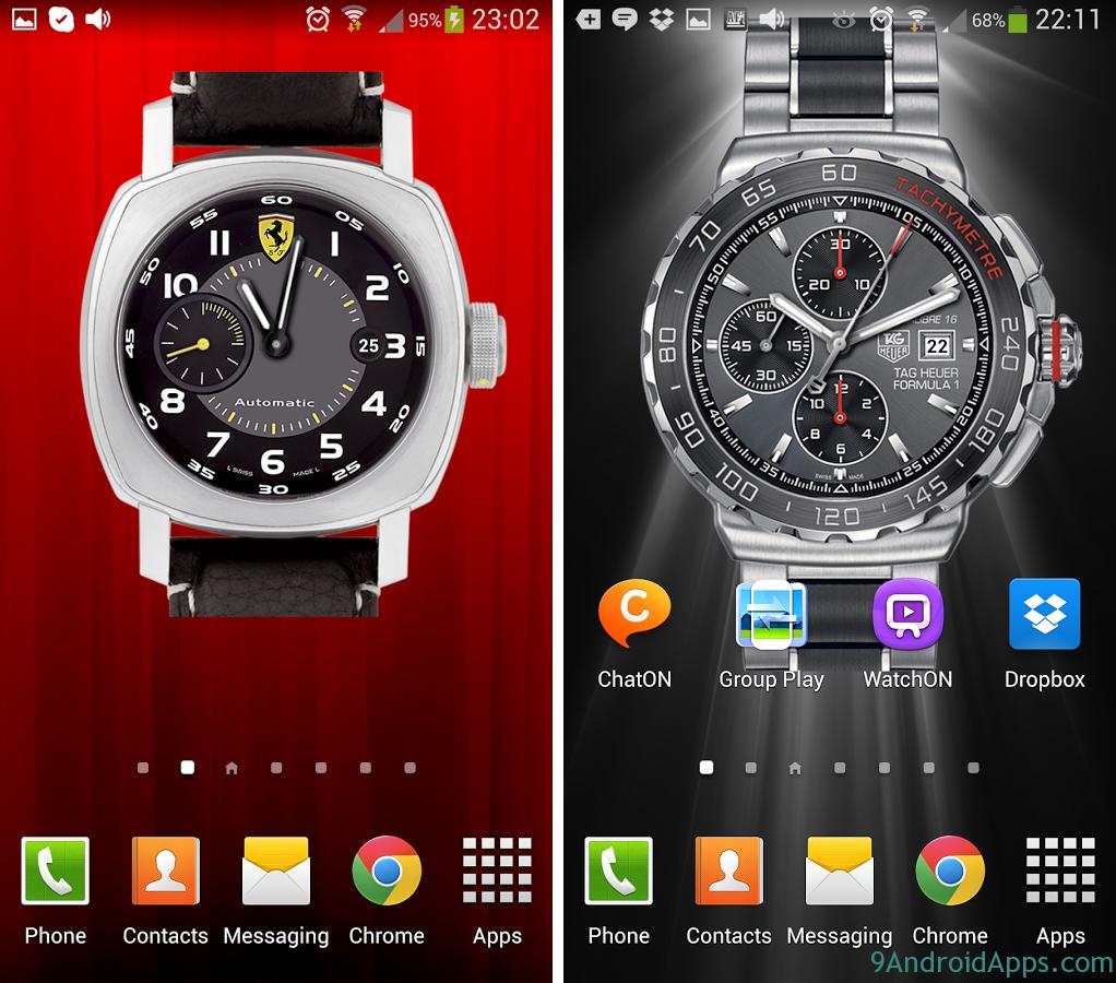 49 Clock Wallpaper For Android On Wallpapersafari