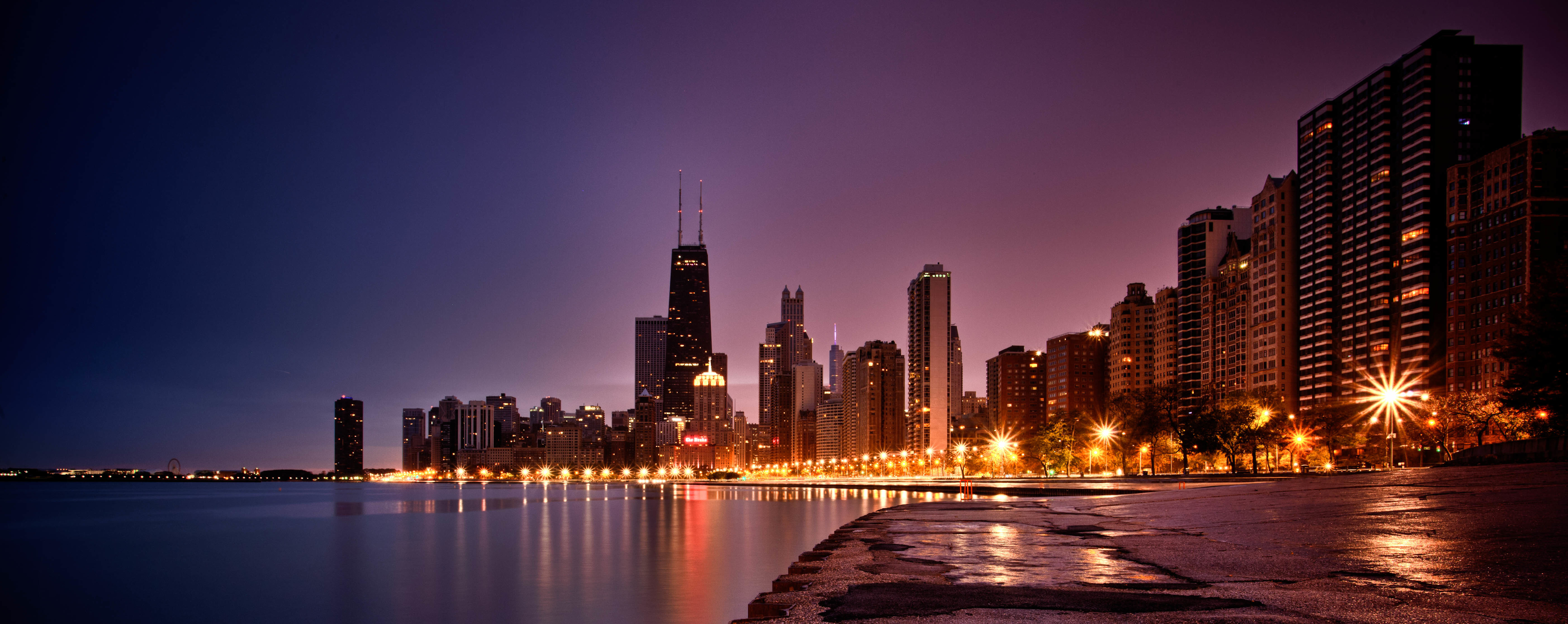 229 Chicago HD Wallpapers Background Images 4020x1600