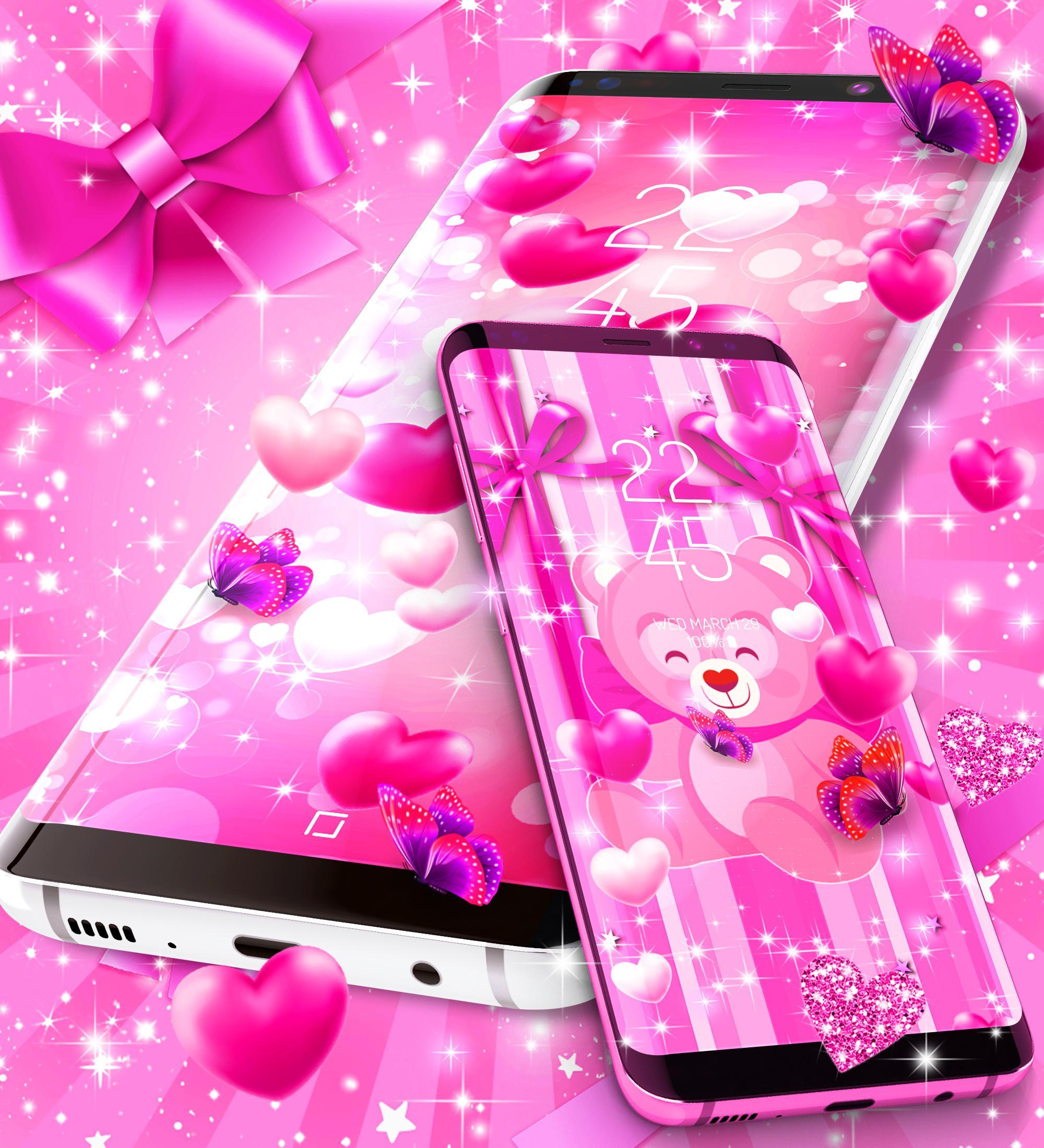2020 lovely pink live wallpaper for Android   APK Download 2000x2200