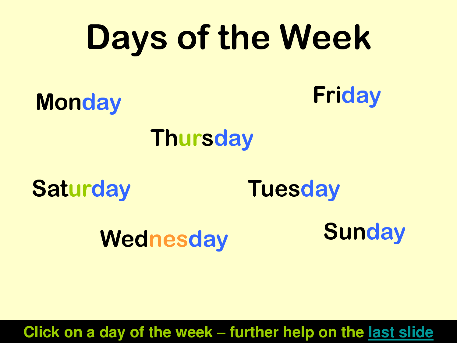 Spelling Days of the Week Look Say Cover Write Check Images   Frompo 1500x1125