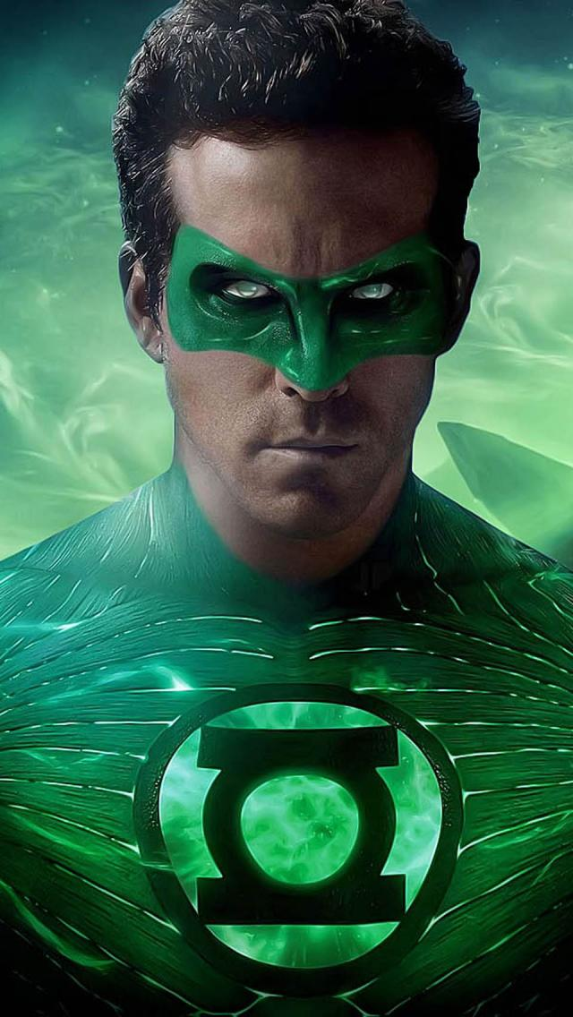 The iPhone Wallpapers Green Lantern Movie 640x1136