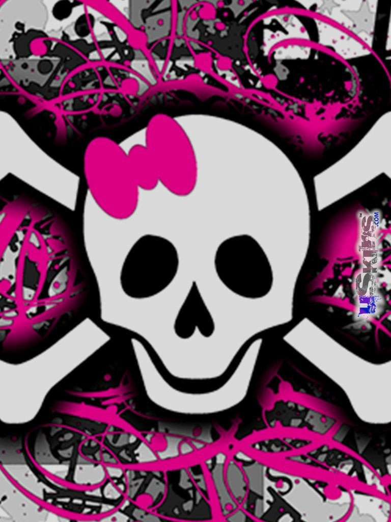 Photo collection download image girly skull girly skull crossbones stock images image 2773484 voltagebd Choice Image