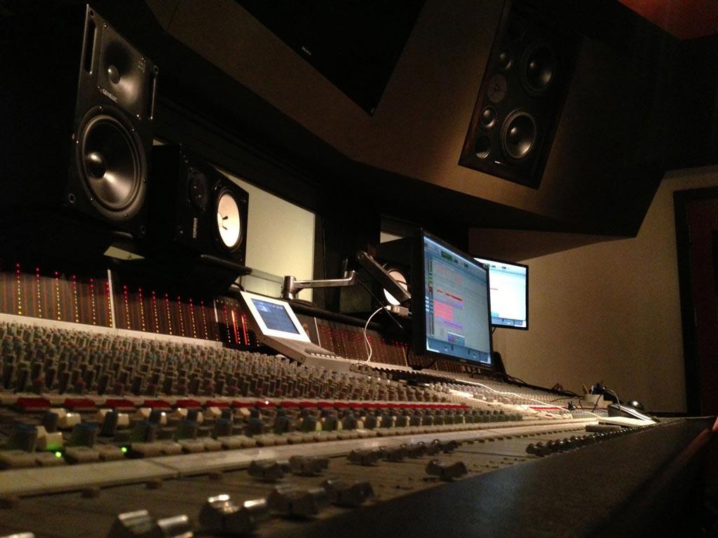 Hip Hop Music Studio Wallpaper One of the recording studios 1024x768