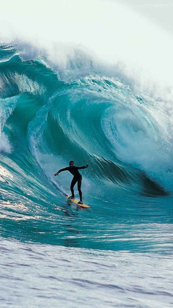 Big Wave Surfing Wallpaper   iPhone Wallpapers 576x1024