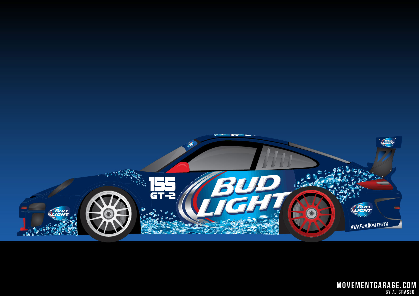 Bud Light GT2 Porsche 1779x1257