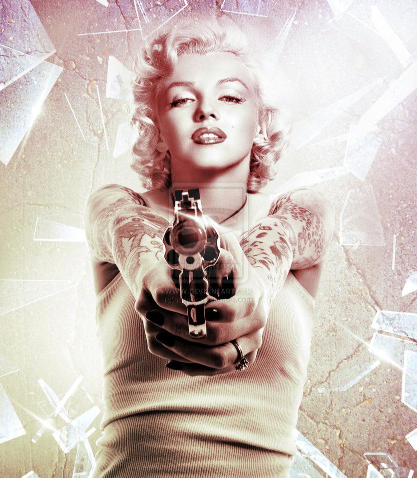 46] Gangster Marilyn Monroe Wallpaper on WallpaperSafari 835x956