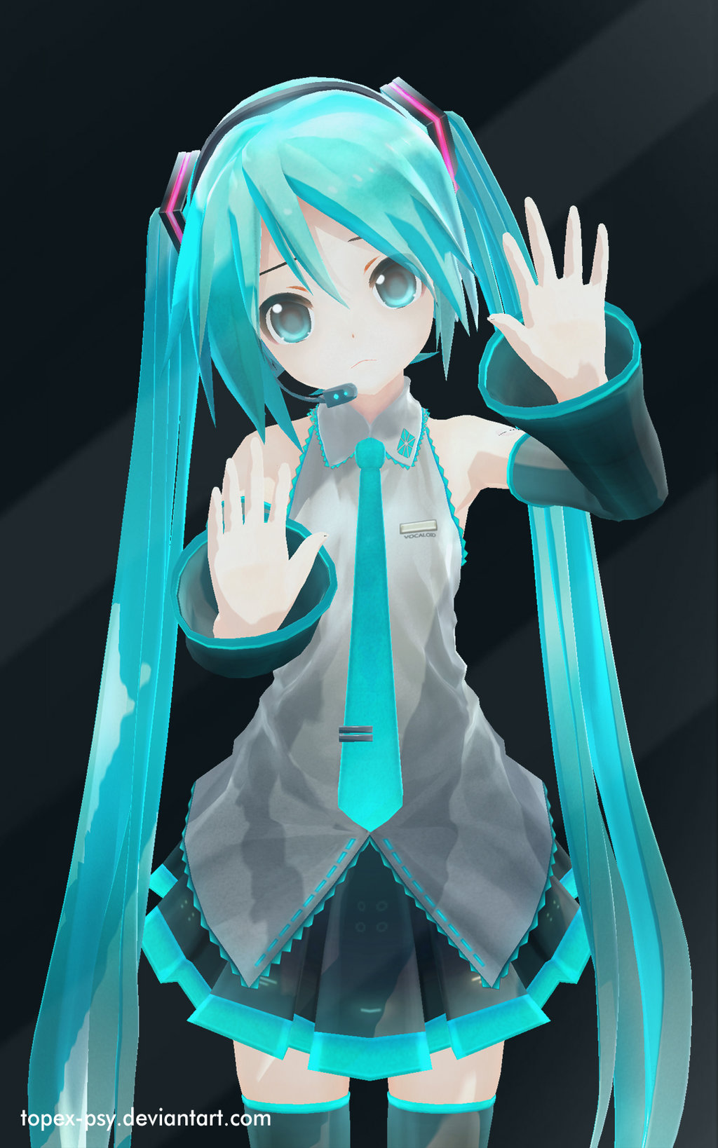 3d mmd slut miku rough fuck little scarlet bad girl 3