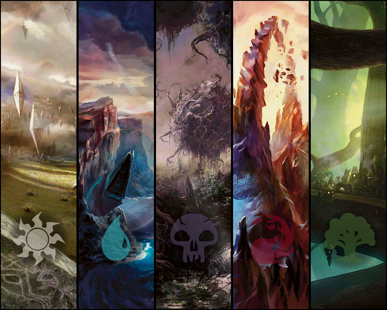 MTG Land Wallpaper