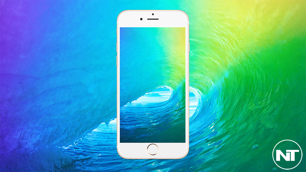 Download iOS 9 Stock Wallpaper Full High Resolution   NaldoTech 1000x563
