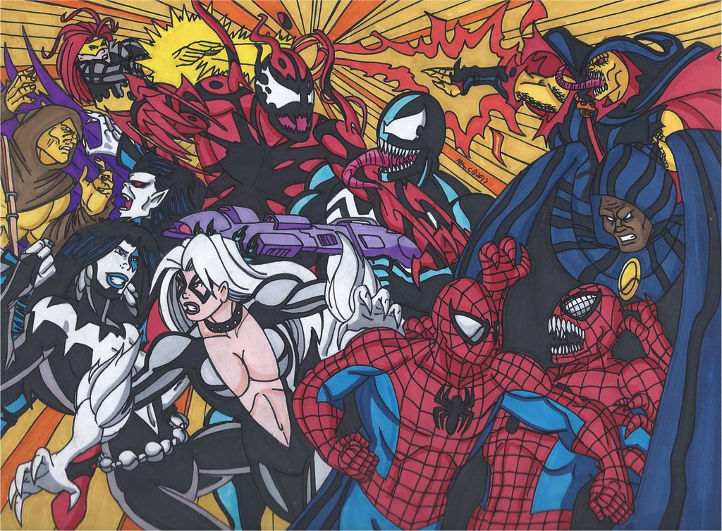 Maximum Carnage Tribute Part 6  The Big Brawl by RobertMacQuarrie1 on 1024x754