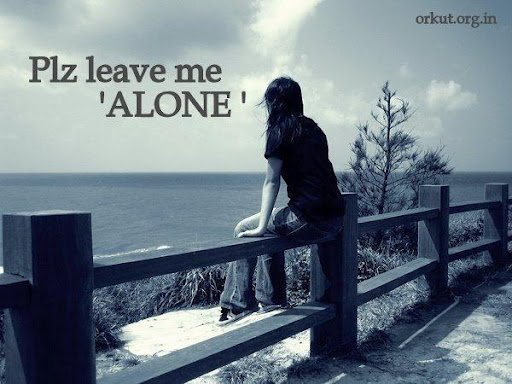 Alone Sad Girls Wallpapers facebook Images mobile pictures Banks 512x384