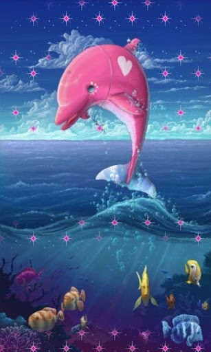 Pink Dolphin Wallpaper Pink Dolphin Wallpaper...