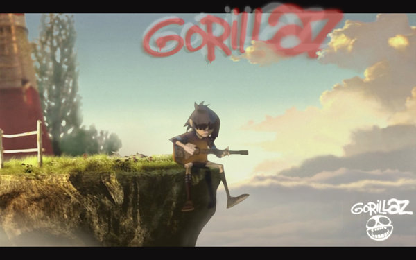 Free download Gorillaz Feel Good Inc Windmill Wallpaper Feel