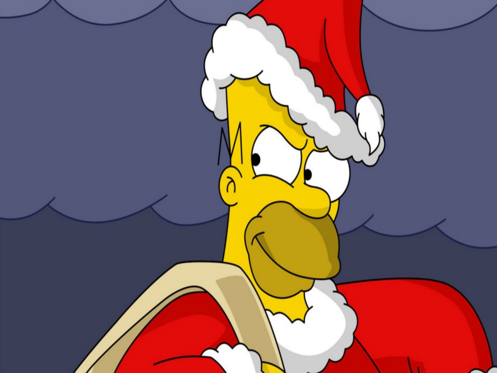Simpsons Christmas Pictures Wallpaper   1600x1200   130302 1600x1200