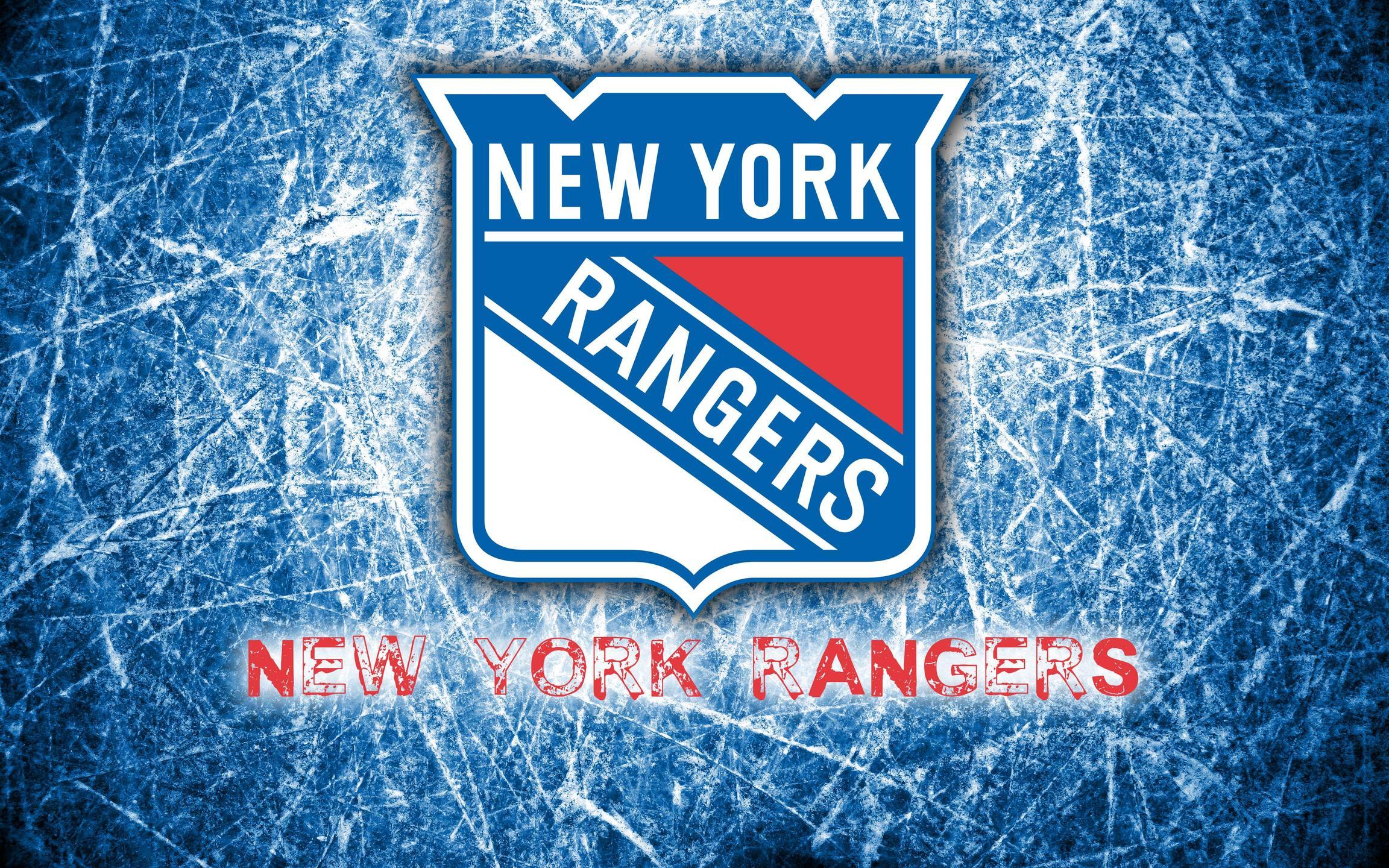 New York Rangers 2014 Logo Wallpaper Wide or HD Sports Wallpapers 2304x1440