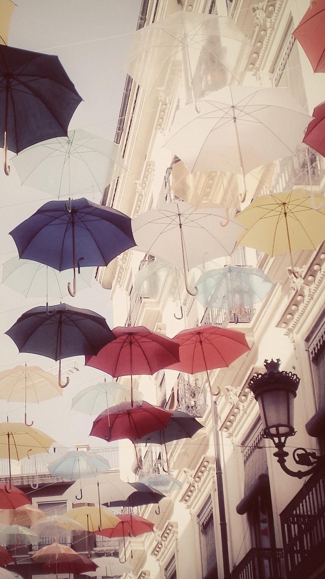 Wallpaper iphone umbrella - Cool Flying Umbrellas Iphone 6s Plus Wallpapers Hd