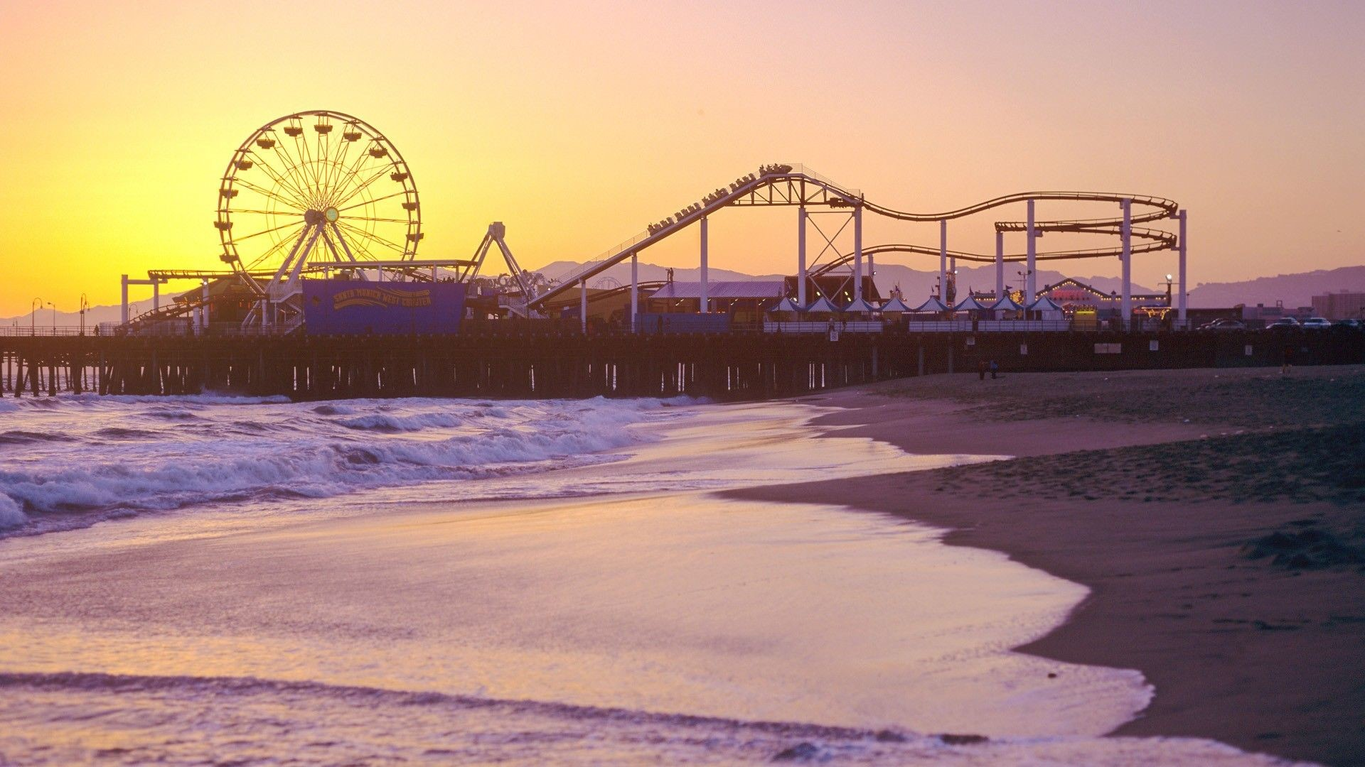 29 Santa Monica Pier Wallpapers On Wallpapersafari