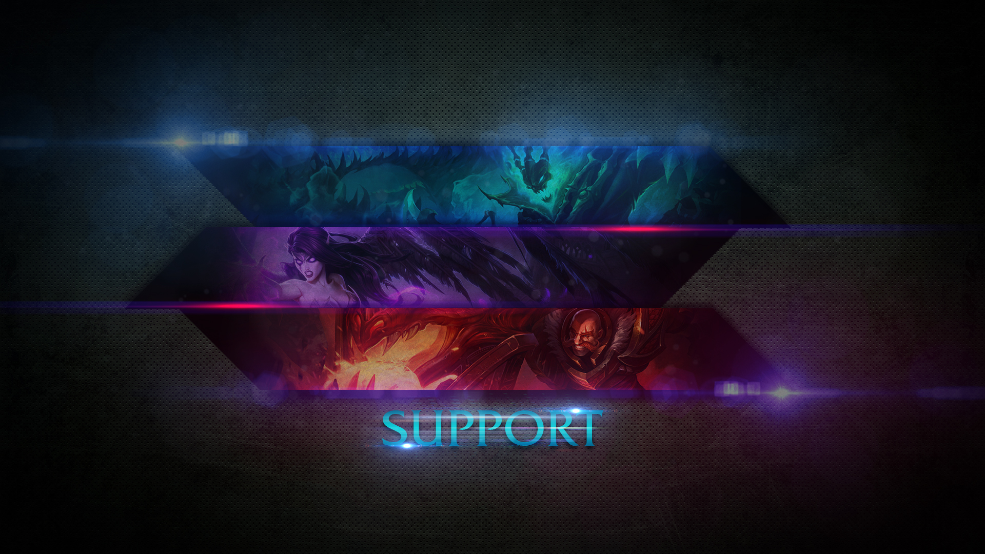 Free Download League Of Legends Support Wallpaper By
