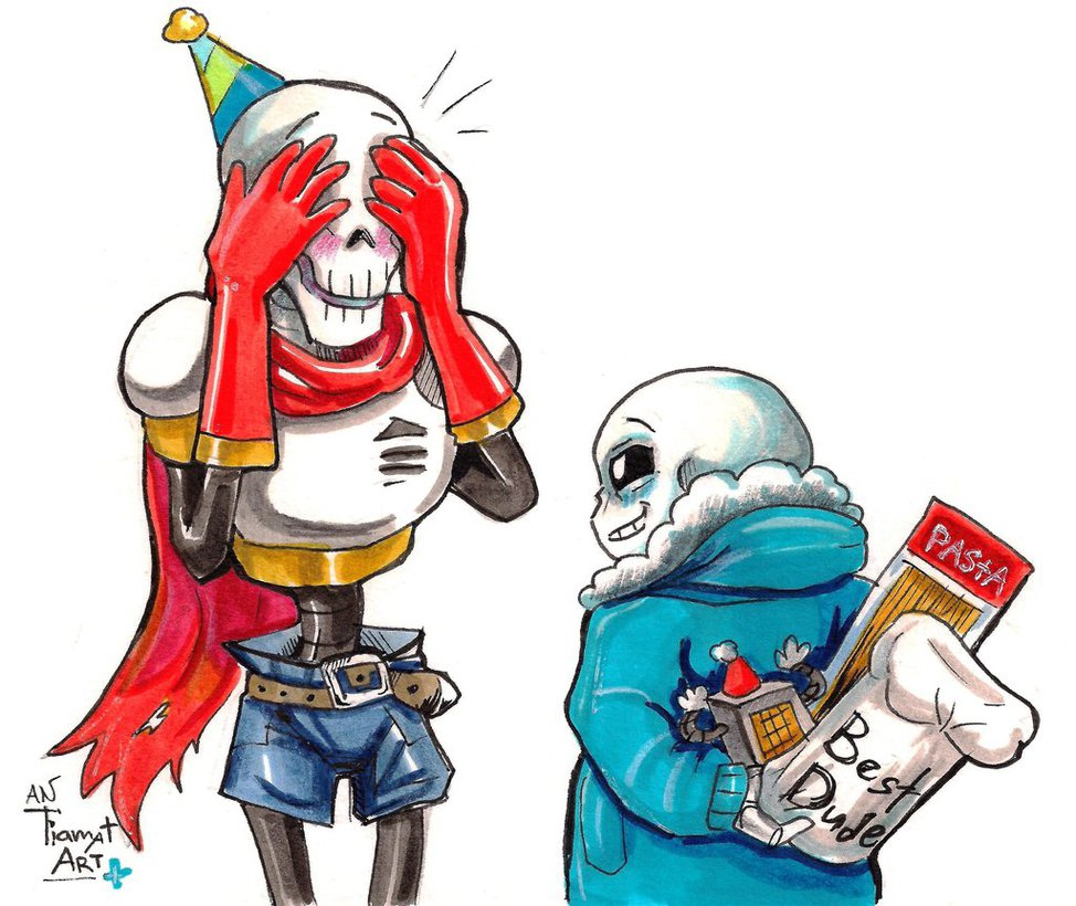 Papyrus undertale wallpaper wallpapersafari for Deviantart wallpaper