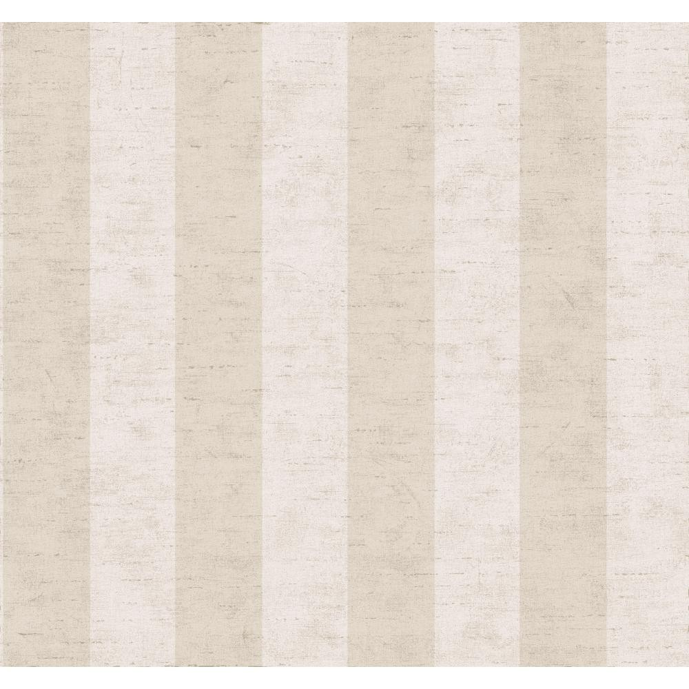 York Wallcovering Ashford House Blooms 3 Wide Stripe Wallpaper SR5794 1000x1000