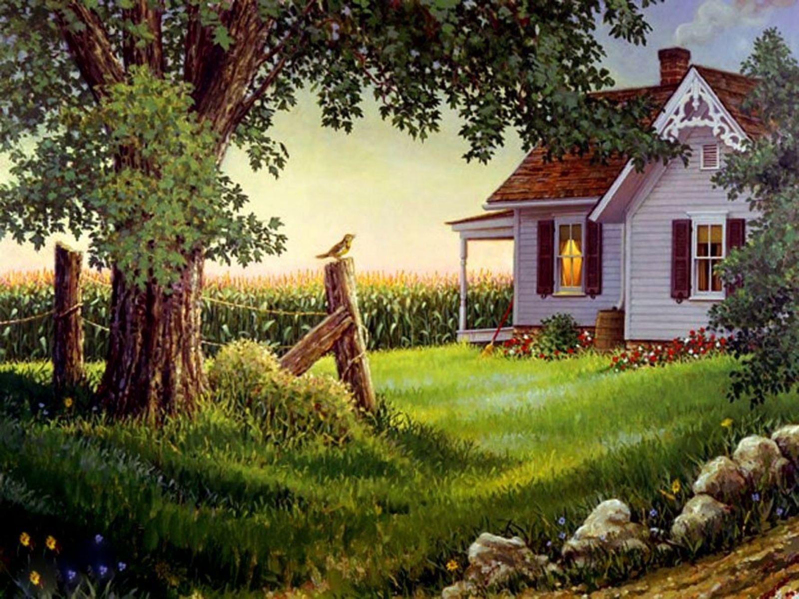country home telegram