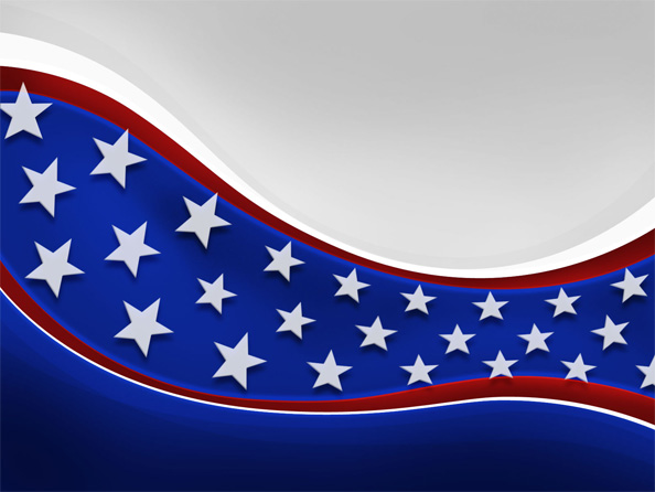 American Patriotic Background   Web Backgrounds 594x446