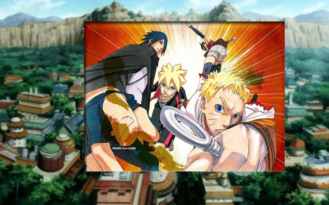 Naruto Sasuke Boruto Sarada Wallpaper 5 by weissdrum 1131x707