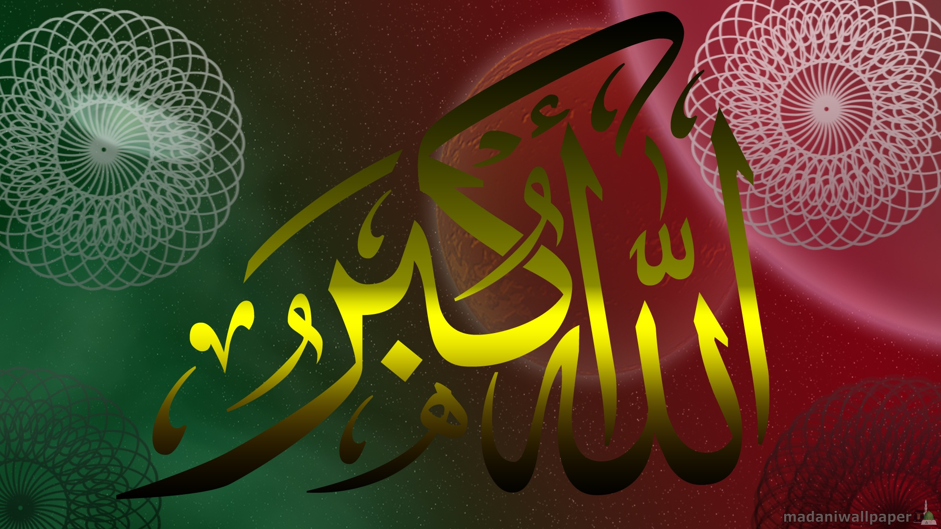 How to set New HD Allah o Akbar Wallpaper wallpaper on your desktop 1920x1080