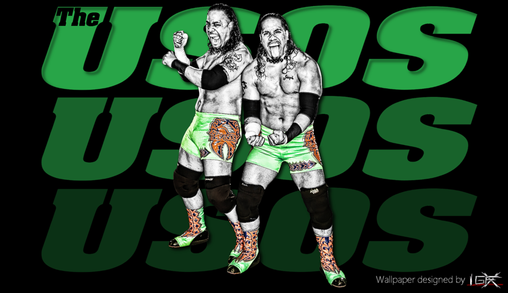 The Usos 2013 Wallpaper The usos wwe wallpaper by 1024x591