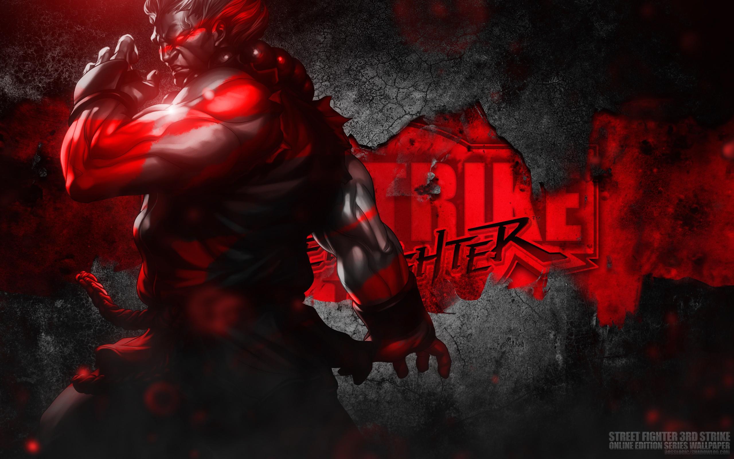 Free Download Akuma Street Fighter 3rd Strike Wallpaper Wallpaper