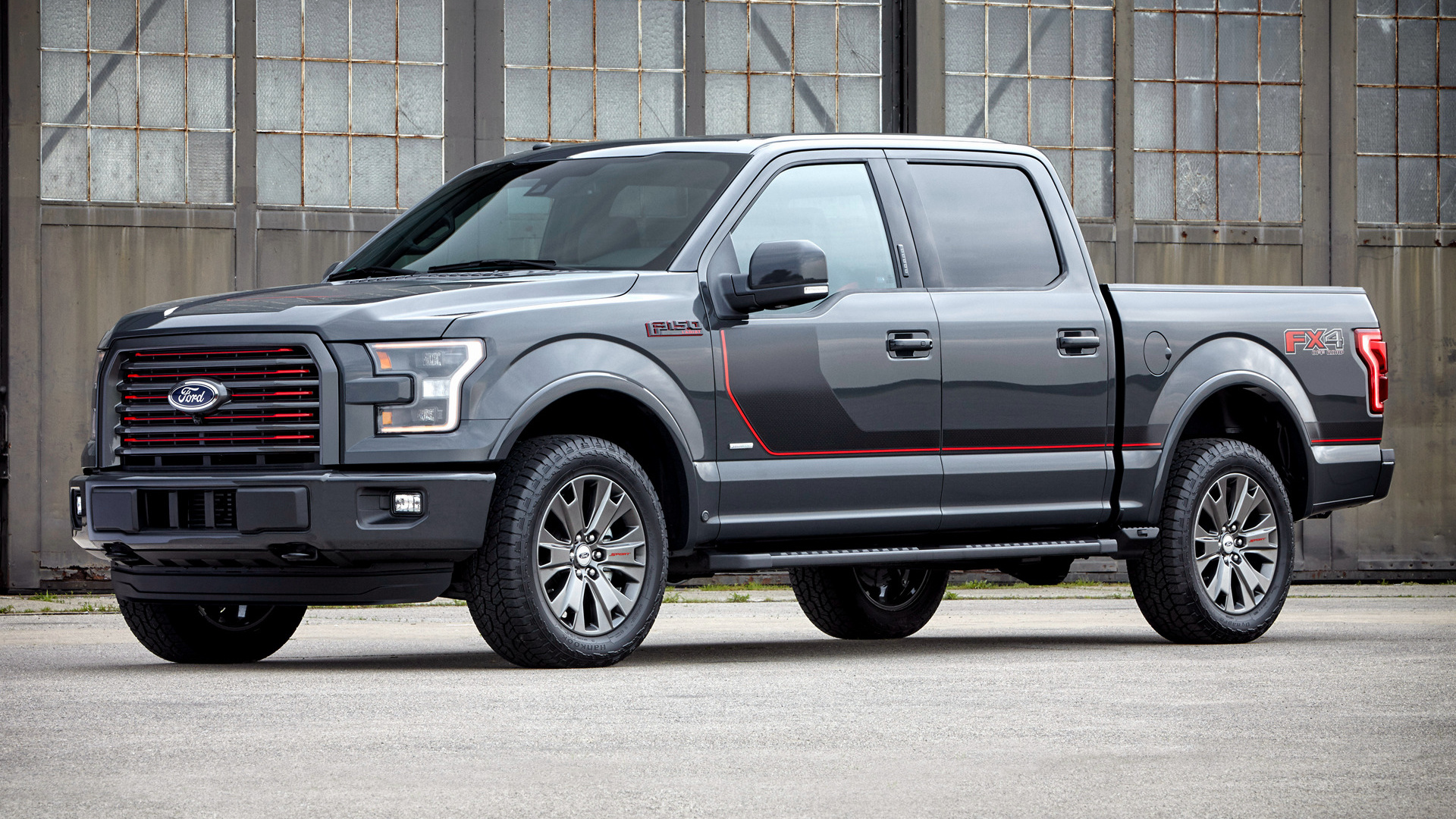Ford F 150 Lariat FX4 SuperCrew Appearance Package 2016 Wallpapers 1920x1080