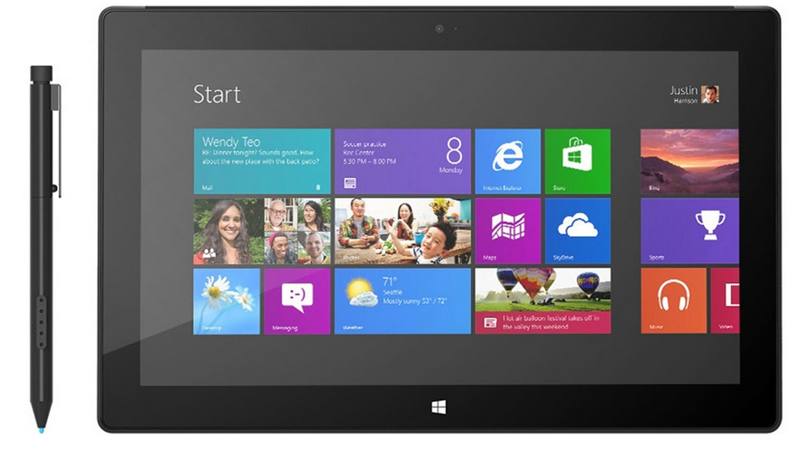 Microsoft Surface Pro tablet features | Surface Pro tablet Specs ...