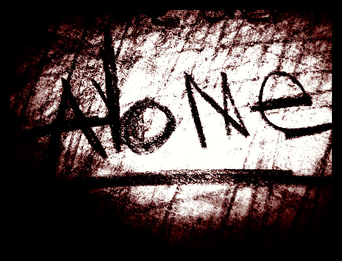 Am Alone Wallpapers I am alone by lostlightxxx 680x520