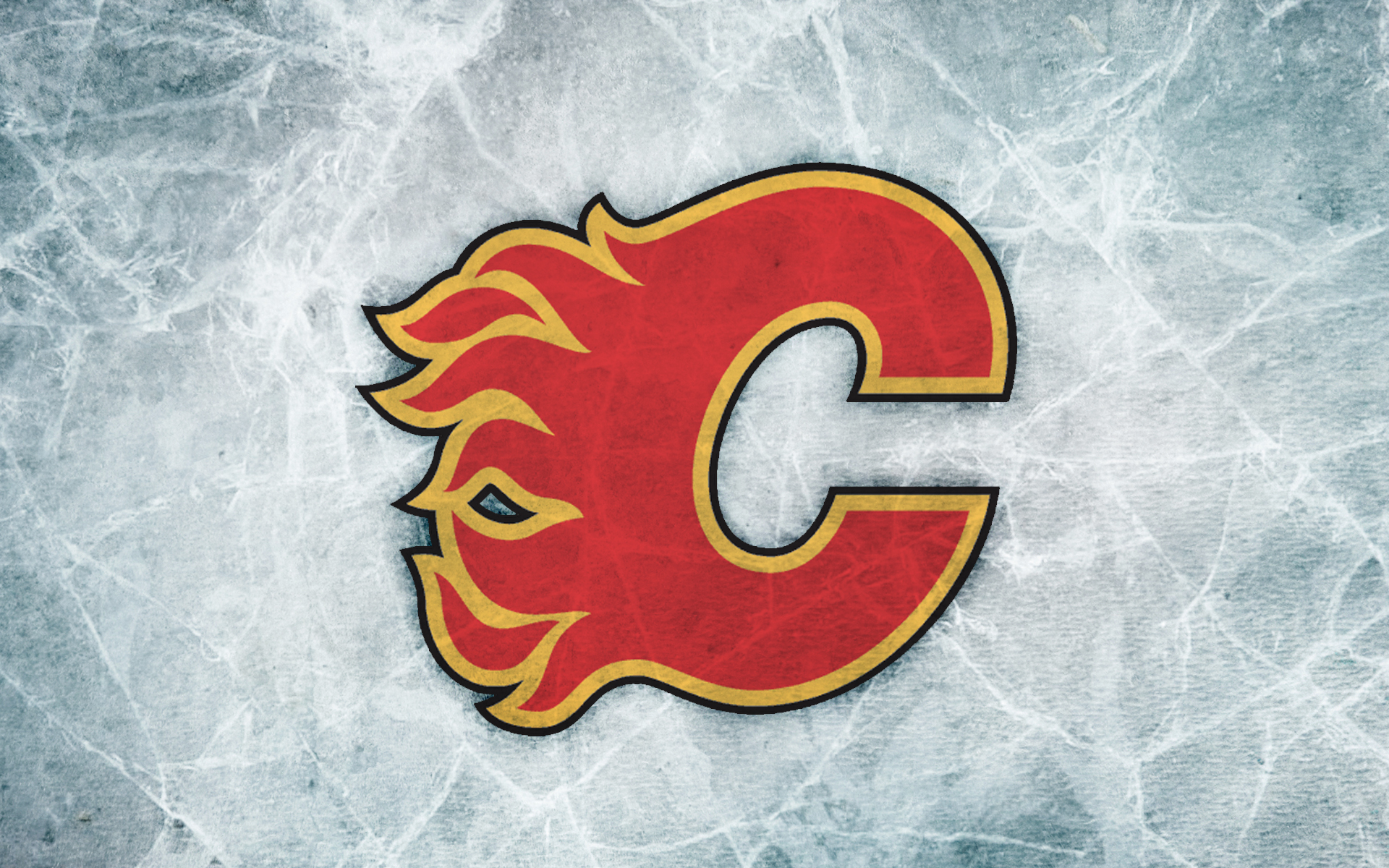 Calgary Flames Logo Wallpaper flames ice wallpaper flickr   photo 1920x1200