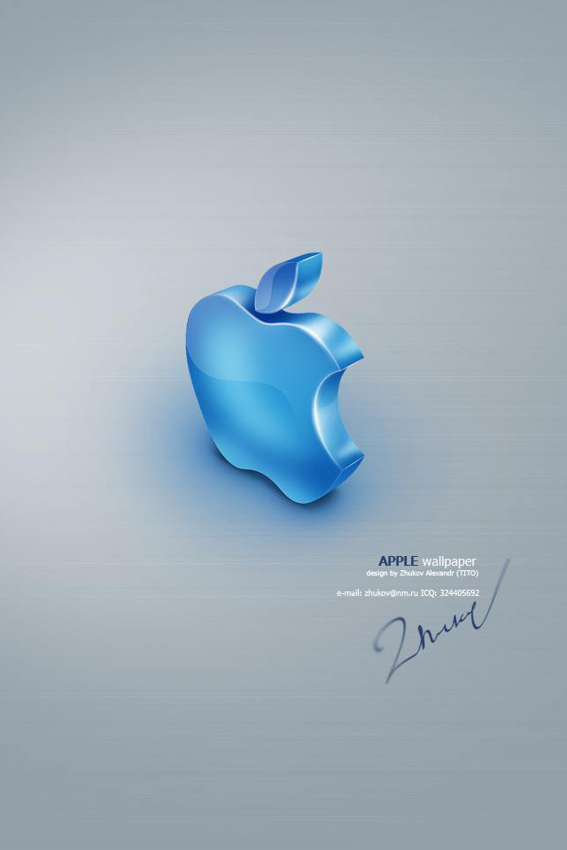 50 3d Apple Logo Wallpaper On Wallpapersafari