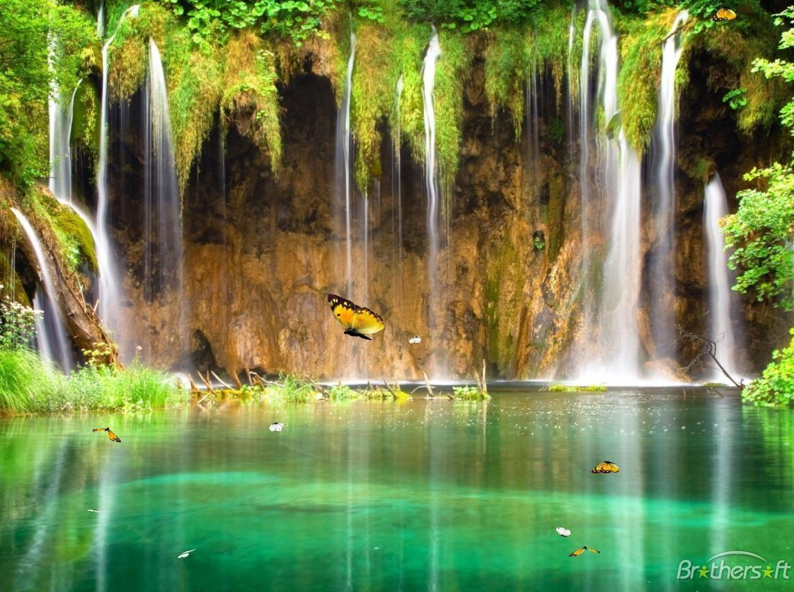 Download Charm Waterfall Animated Wallpaper Charm Waterfall 1144x853