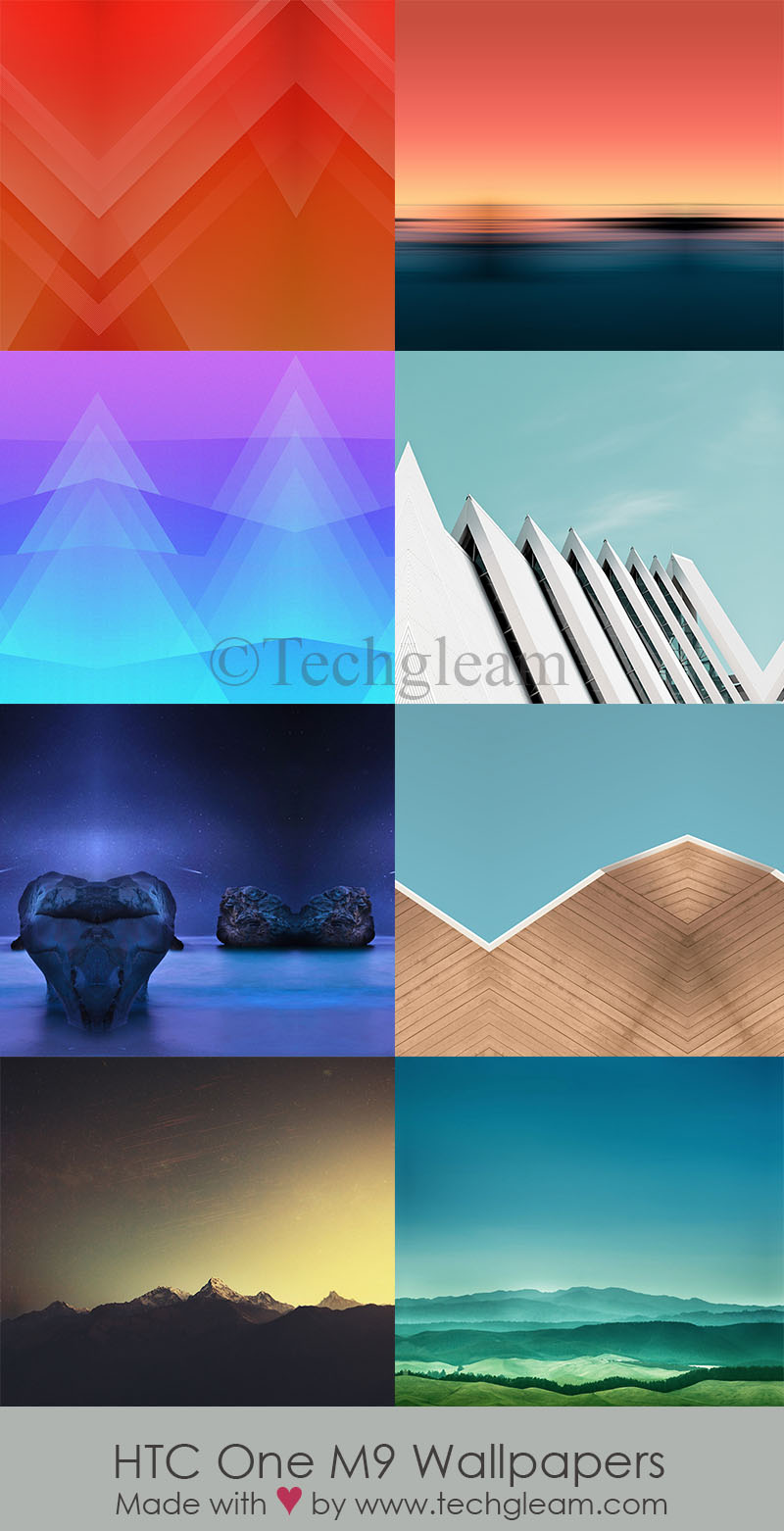 Full Set HTC One M9 HD Stock Wallpapers Download Techgleam 800x1562