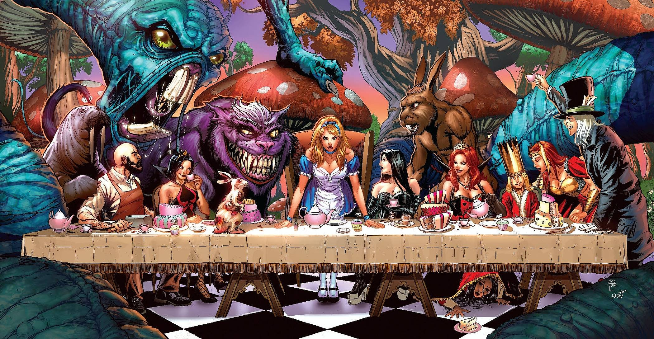 Grimm Fairy Tales Wallpapers 2100x1089