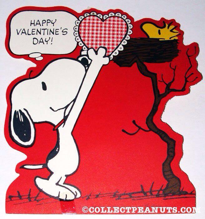 Snoopy Valentines Day Pinterest 656x700