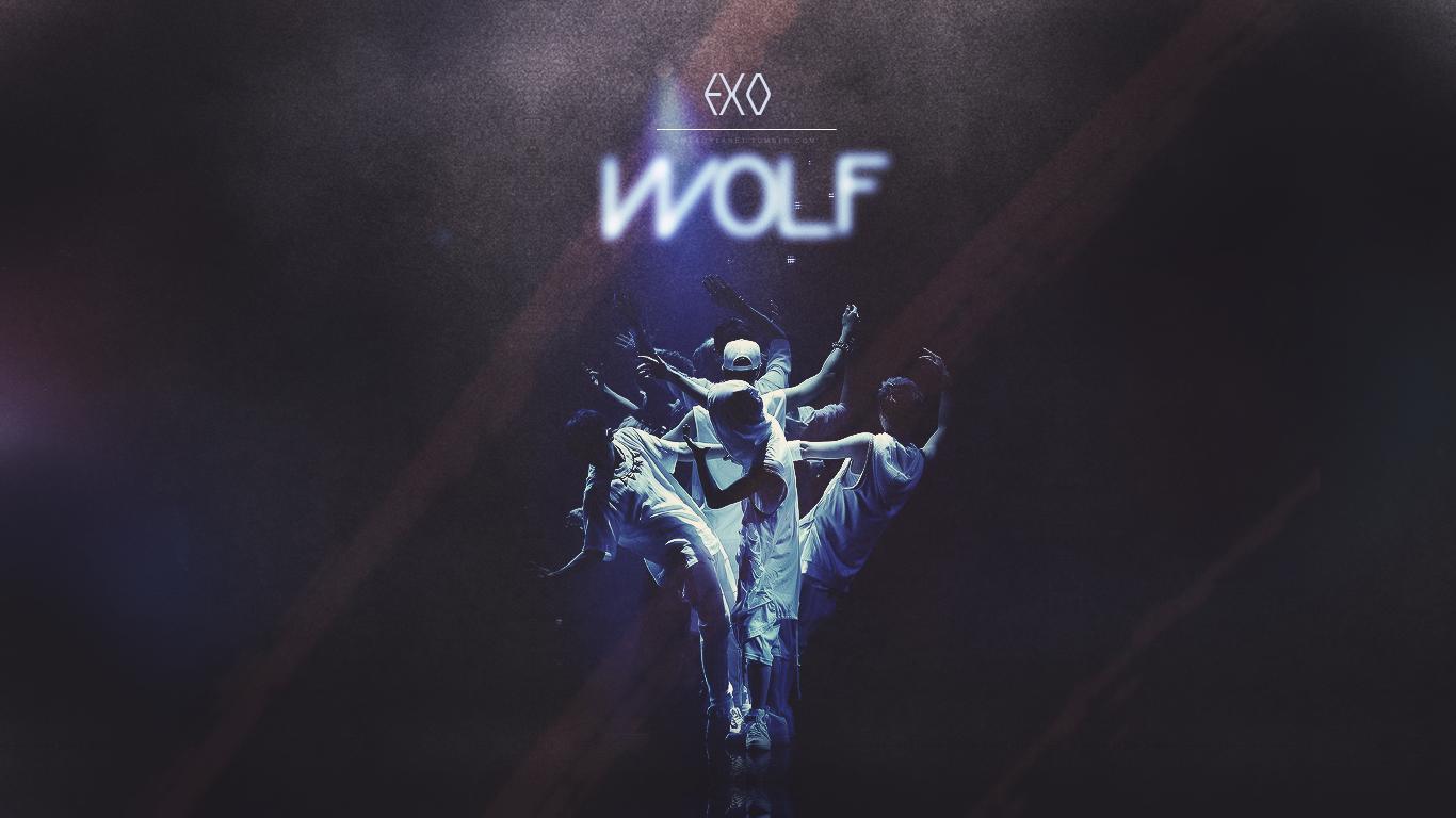 Exo Wolf Desktop Wallpaper Images Pictures   Becuo 1366x768