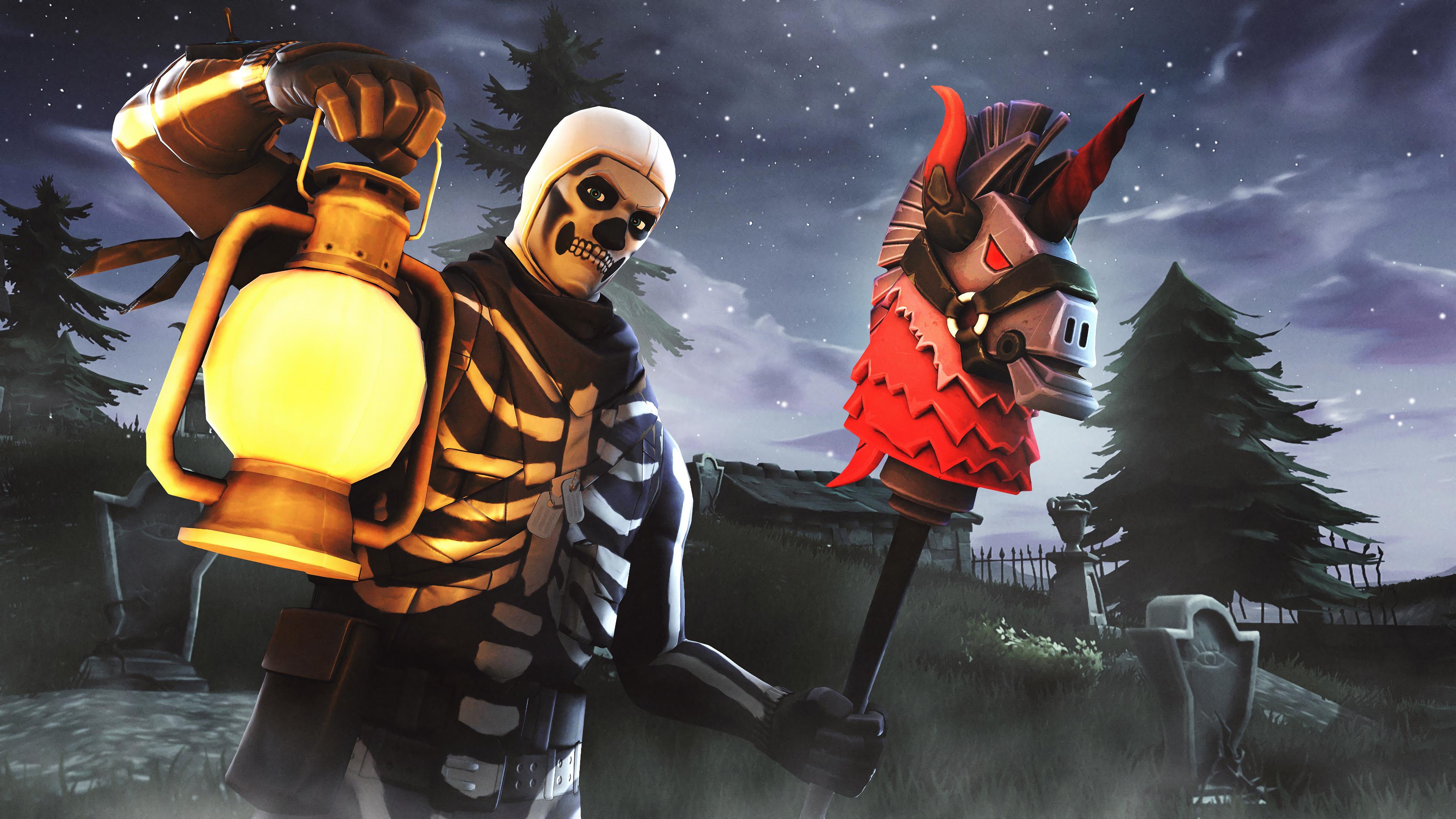 Skull Trooper Fortnite Season 6 4K HD Games 4k Wallpapers 3840x2160
