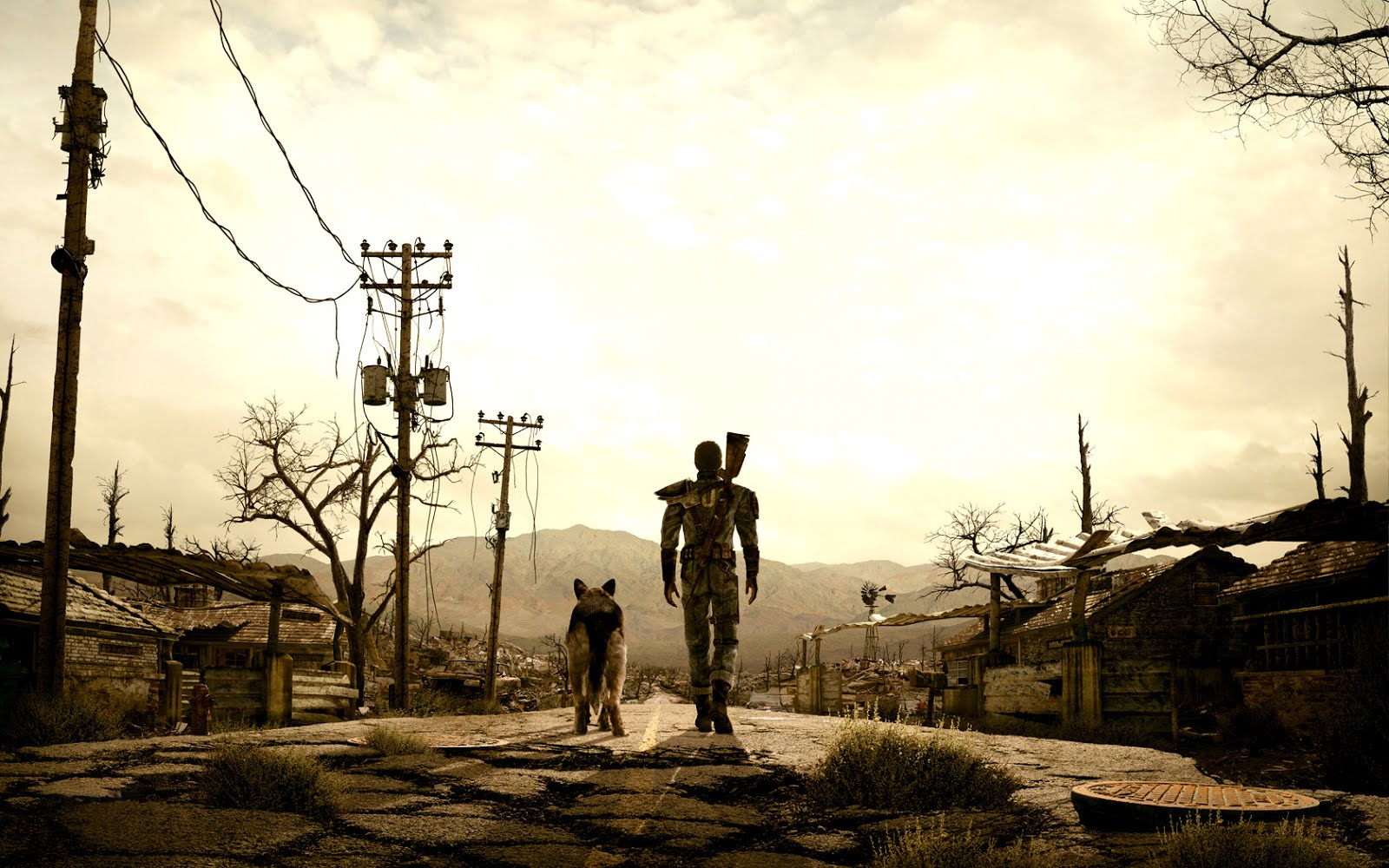 Game Wallpapers Fallout   Game Wallpaper 1600x1000