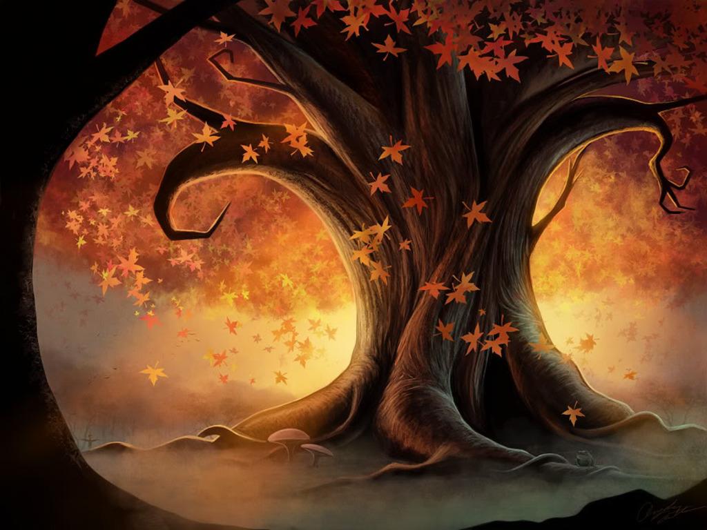 Wicca Tree Wallpaper PicsWallpapercom 1024x768