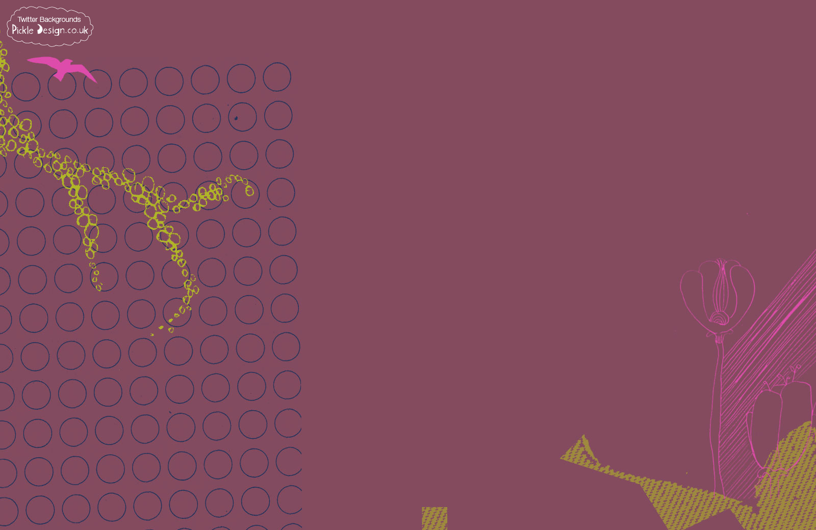 Purple Twitter Background 1600x1040