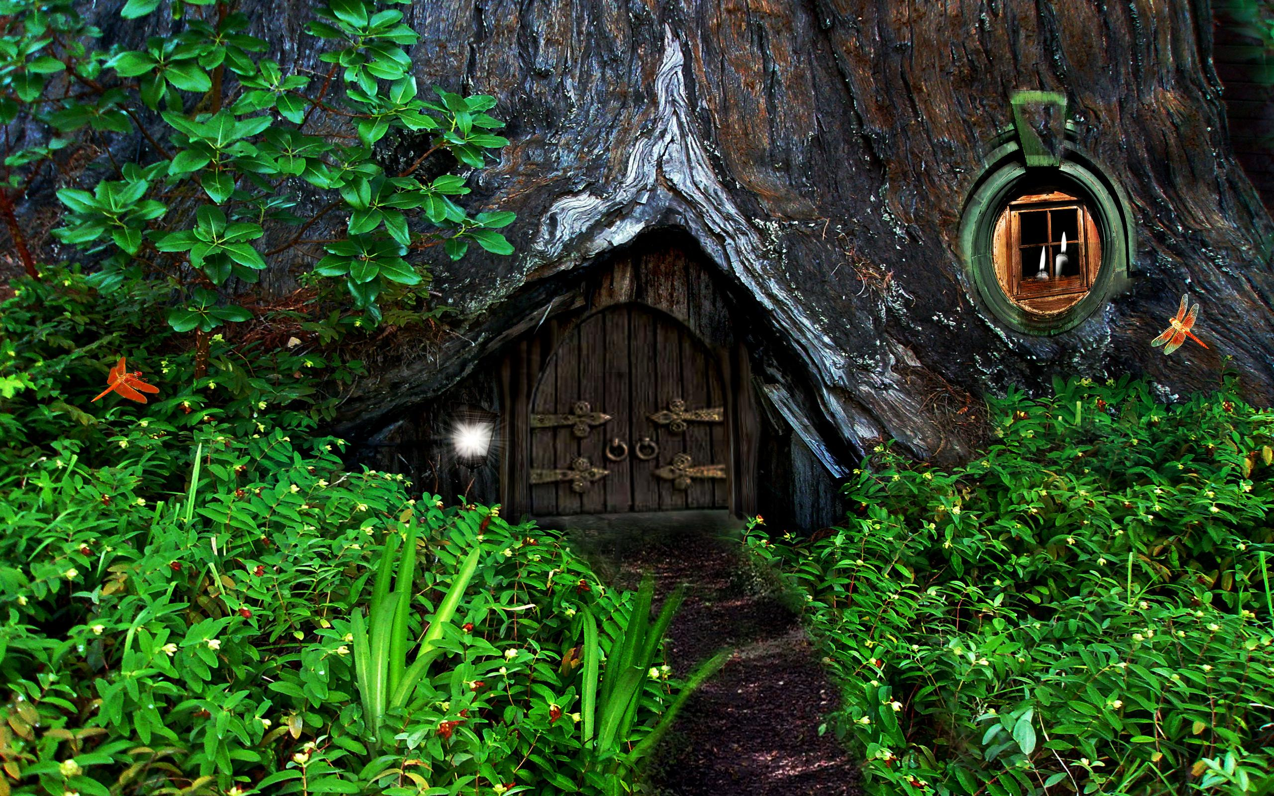 Hobbit home Wallpapers HD 2560x1600