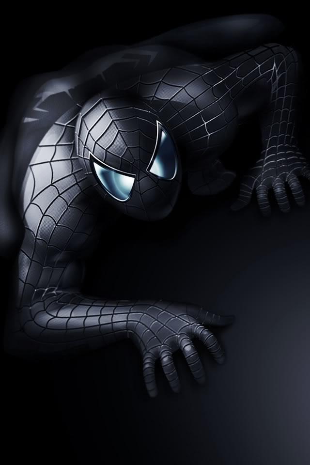 iPhone 4 Wallpaper   Dark Spiderman Latest Mobile Phones Watches 640x960