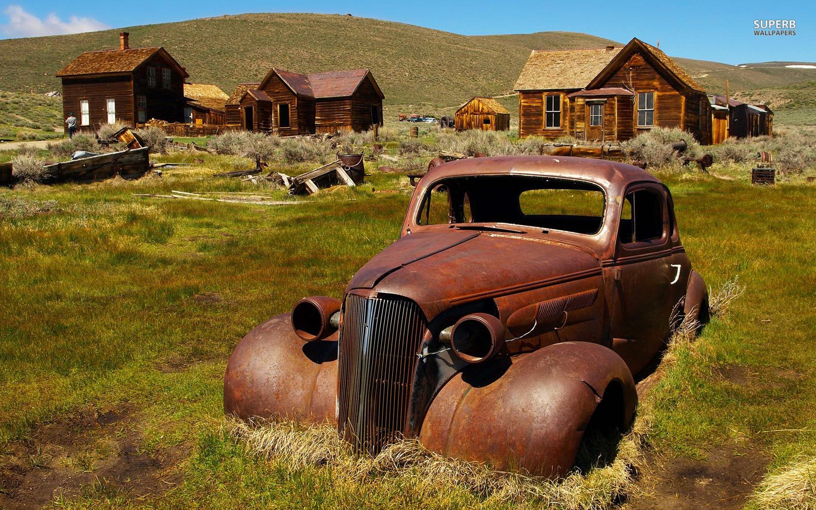Rusty Old Car Wallpaper HD 1620   HD Wallpaper Site 1680x1050