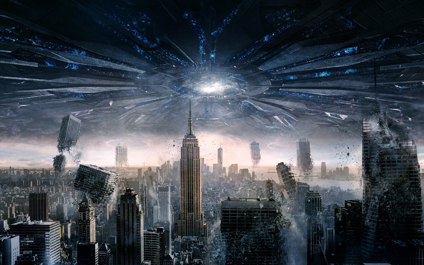 Independence Day Resurgence City Apocalypse   Stock Photos 1680x1050