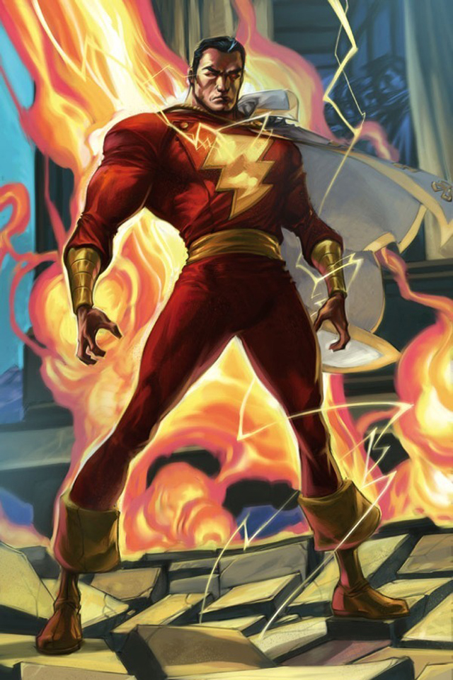 wallpaper Captain Marvel I4 with size 640x960 pixels for iPhone 640x960