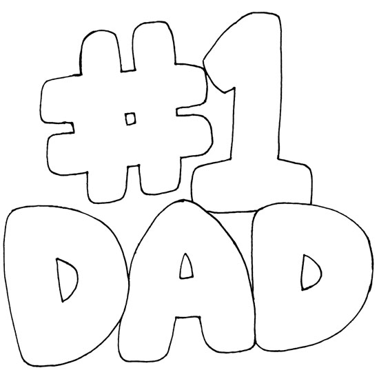 Love You Dad Coloring Pages For Kids Desktop Background Wallpapers 550x550